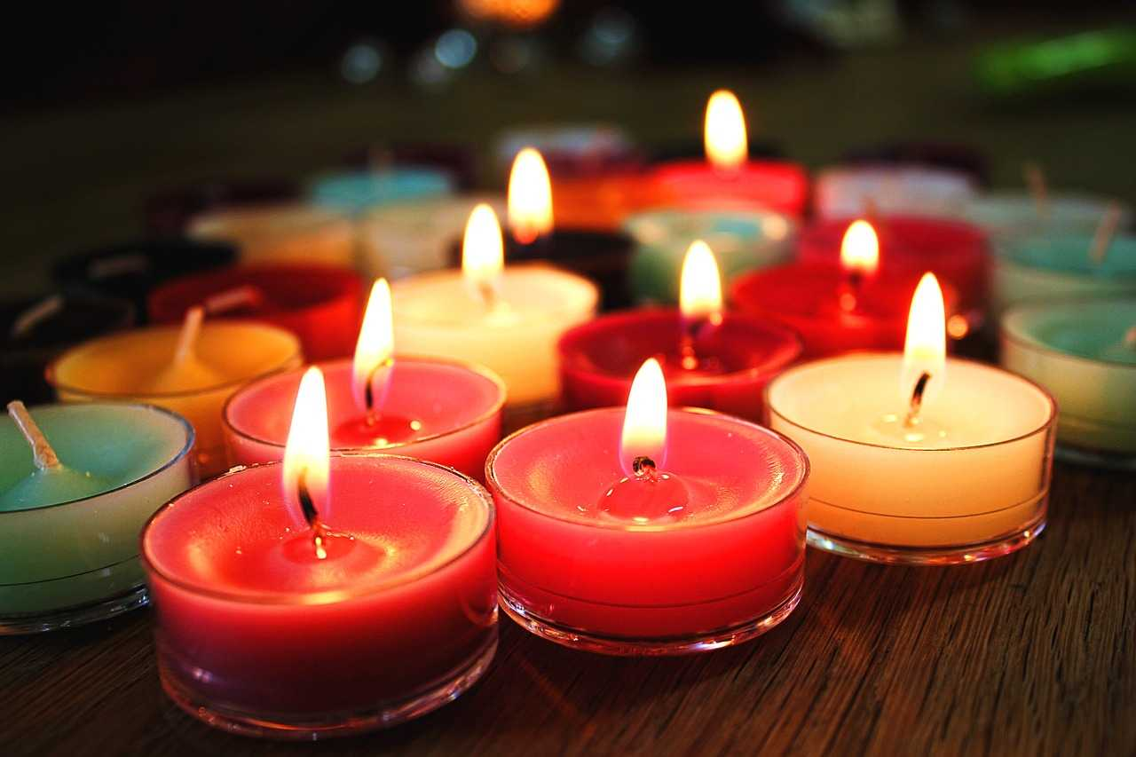 jakie są rodzaje świeczek