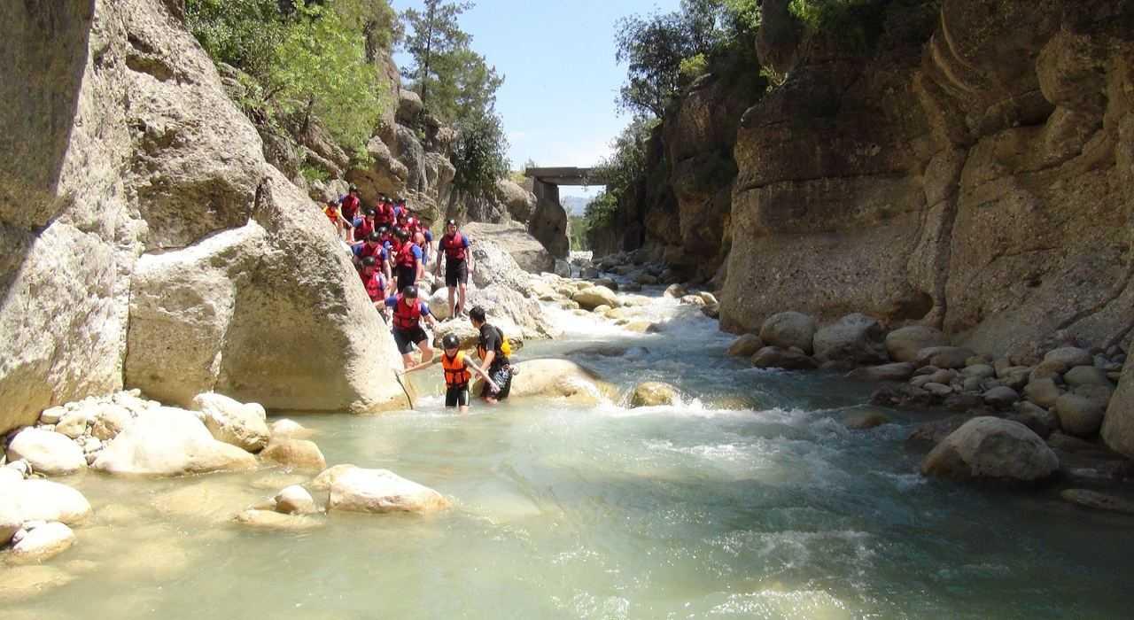 Kanioning, canyoning w Turcji