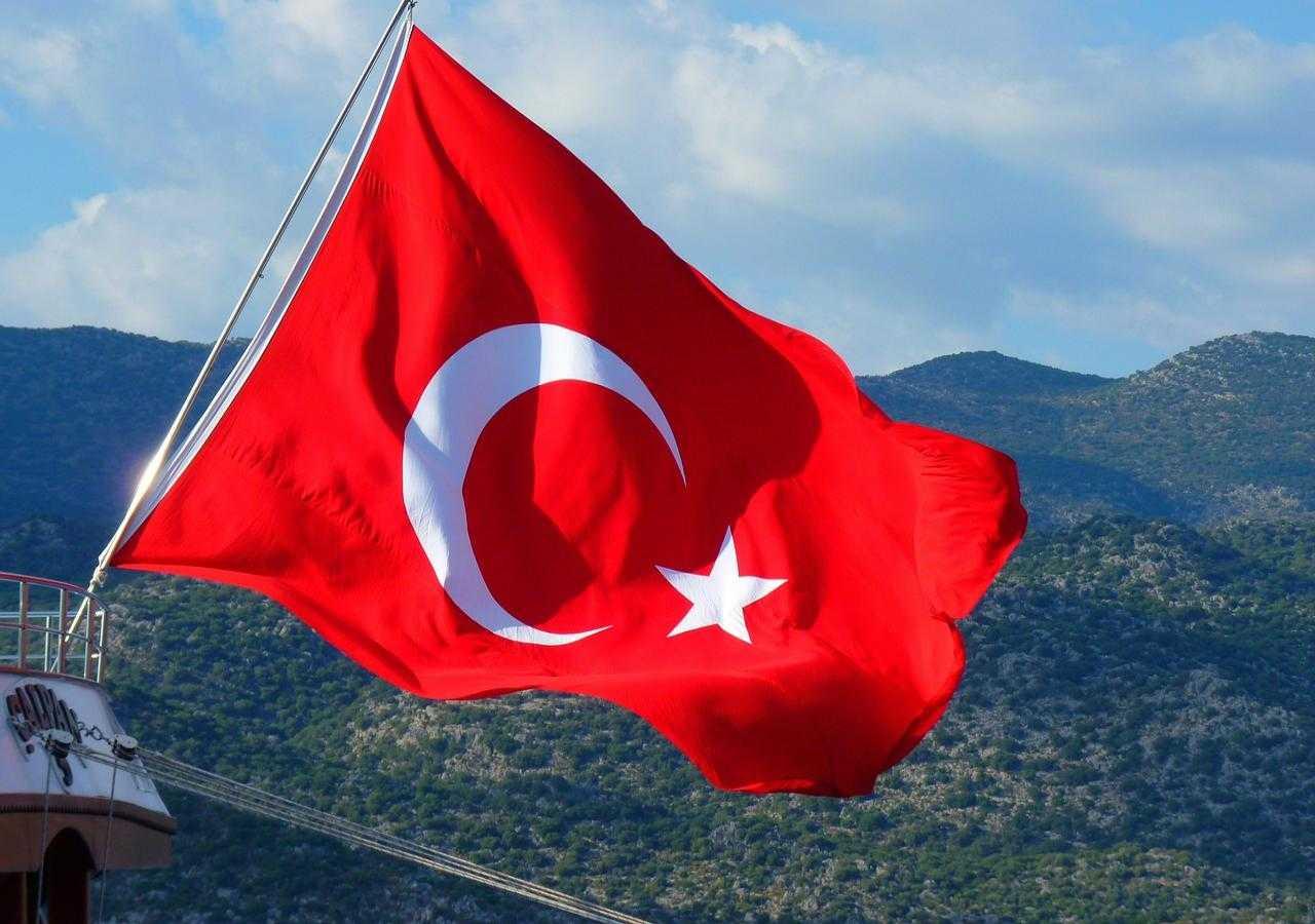Ciekawostki o Turcji - flaga Turcji