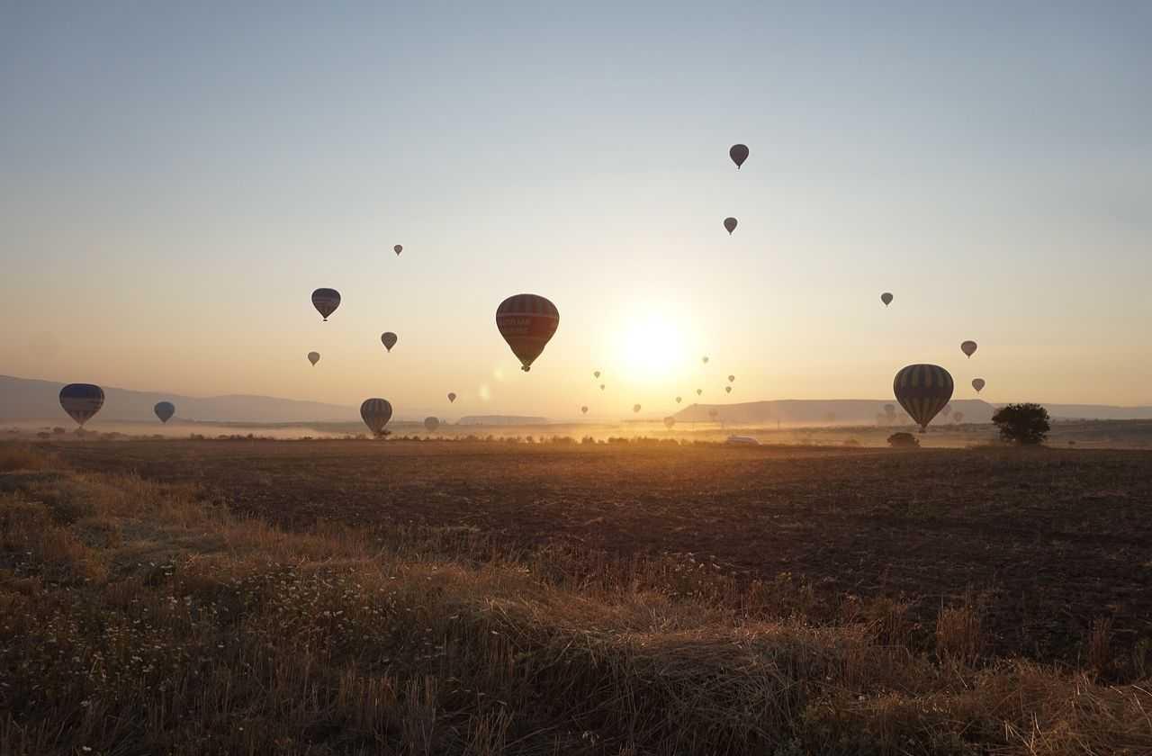 lot balonem w Kapadocji