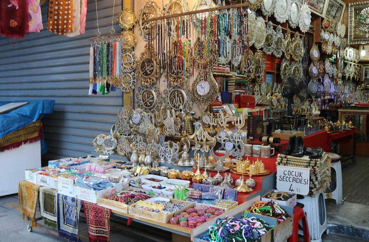 prezenty na bazarze