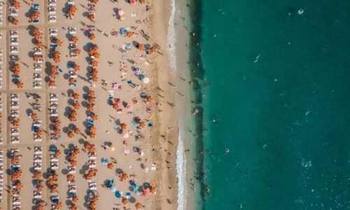 Alanya plaża morze