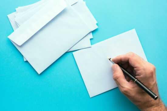 Jak zaadresować list?